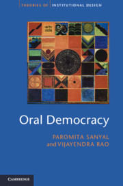 Oral Democracy: Deliberation in Indian Village Assemblies