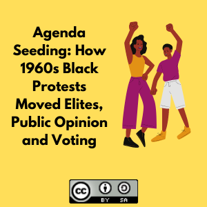 Agenda Seeding: How 1960s Black Protests Moved Elites, Public Opinion and Voting