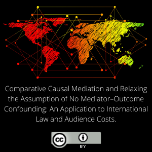 Comparative Causal Mediation and Relaxing the Assumption of No Mediator–Outcome Confounding: An Application to International Law and Audience Costs.