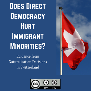 Does Direct Democracy Hurt Immigrant Minorities? Evidence from Naturalization Decisions in Switzerland