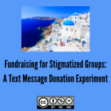 Fundraising for Stigmatized Groups: A Text Message Donation Experiment