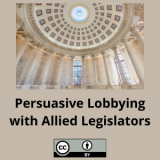 Persuasive Lobbying with Allied Legislators