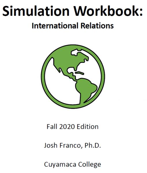 Simulation Workbook: International Relations Fall 2020 Edition