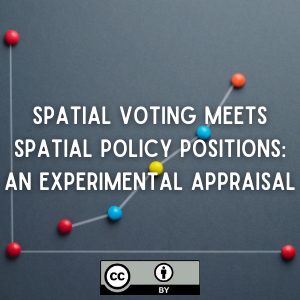 Spatial Voting Meets Spatial Policy Positions: An Experimental Appraisal