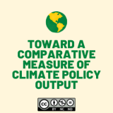 Toward a Comparative Measure of Climate Policy Output