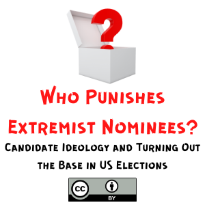 Who Punishes Extremist Nominees? Candidate Ideology and Turning Out the Base in US Elections